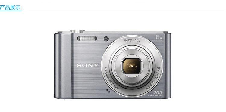 索尼W810数码相机 一次性成像相机
