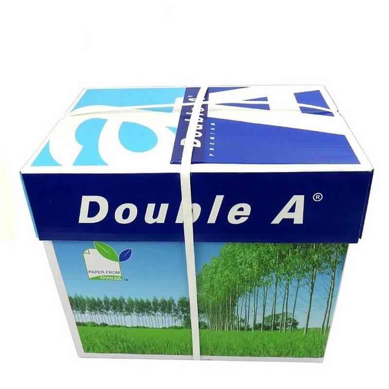 Double a A4/80G 复印纸 500张/包 5包/箱 (单位:箱) 白色