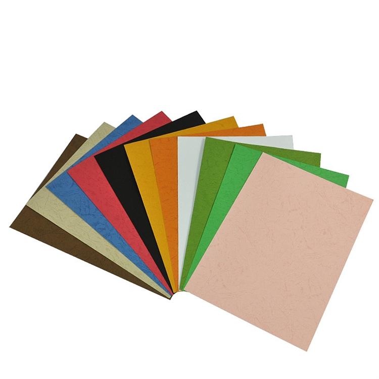 优玛仕A3皮纹纸装订封面粉红色100张/包(包)