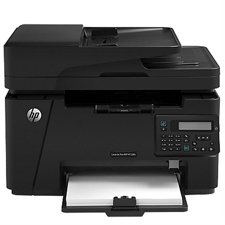 惠普 M128fn 黑白激光多功能一体机A4(打印/复印/扫描/传真)(台)