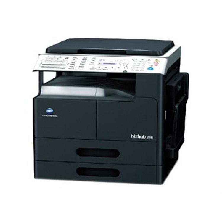 柯尼卡美能达 206 黑白 高速复合机标配(单纸盒,原稿盖板)(单位:台)