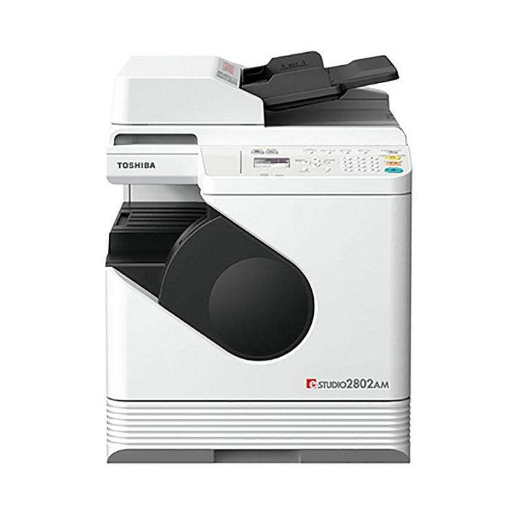 东芝(TOSHIBA)e-STUDIO2802AM A3黑白复合机(主机+双面器+双面输稿器)(台)