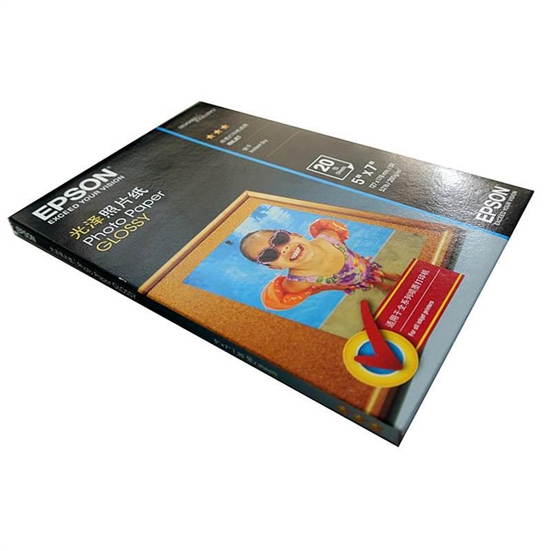 爱普生 C13S042550 光泽照片纸 A4/200g/m2/20张/包 (单位:包)