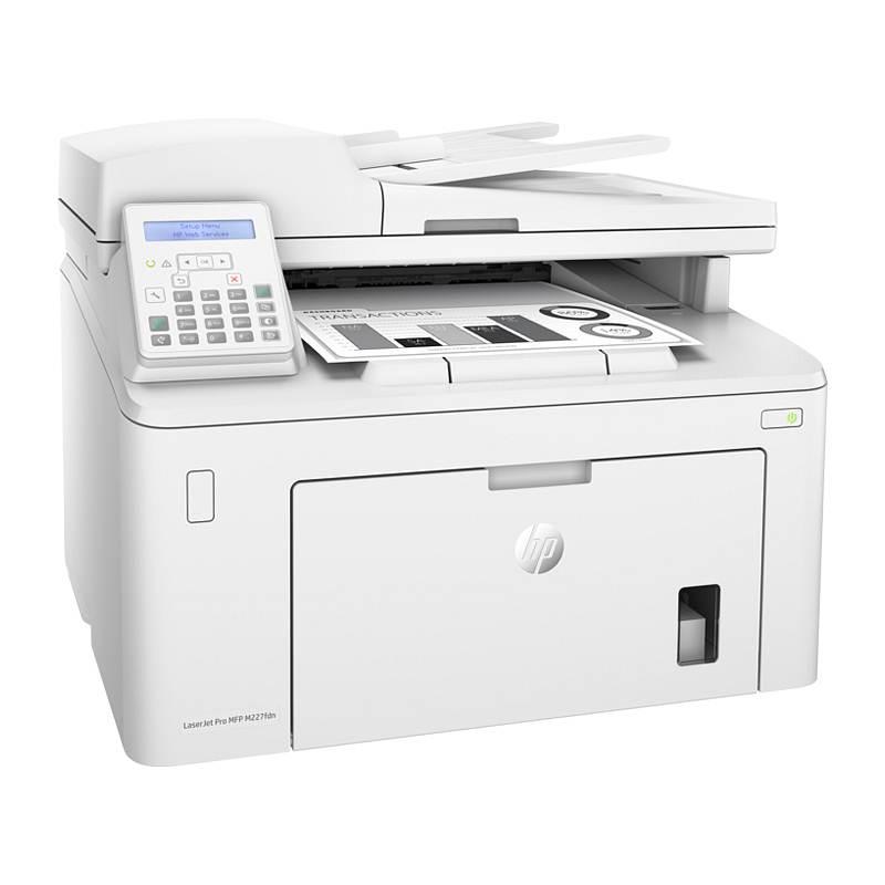 惠普 227fdn 黑白激光多功能一体机A4(打印/复印/扫描/传真)(台)