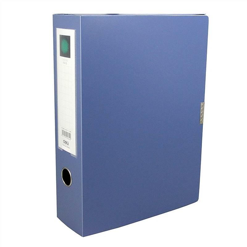 得力 5604 档案盒 (单位:只) 蓝