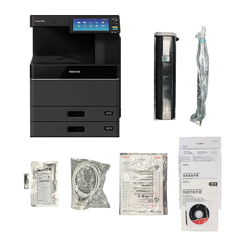 东芝 e-STUDIO2518A黑白数码复印机含双面输稿器、双面器、工作台 (单位:台)
