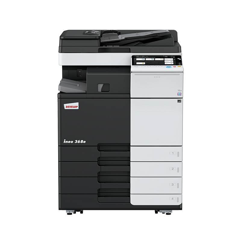 德凡(DEVELOP)ineo368e黑白复印机含双面输稿器、工作台、双纸盒、多功能手送托盘 (单位:台)