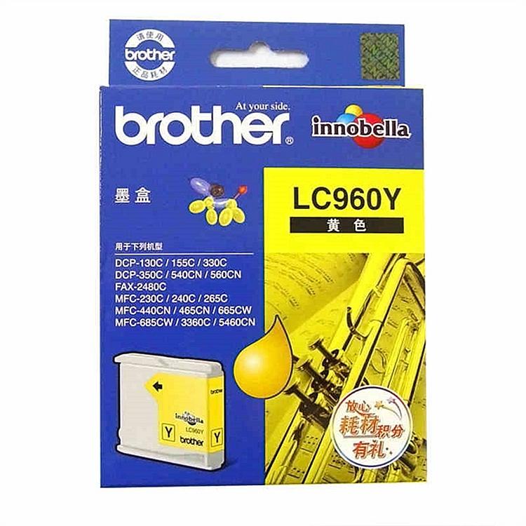 兄弟 LC960Y 墨盒 (单位:盒) 黄