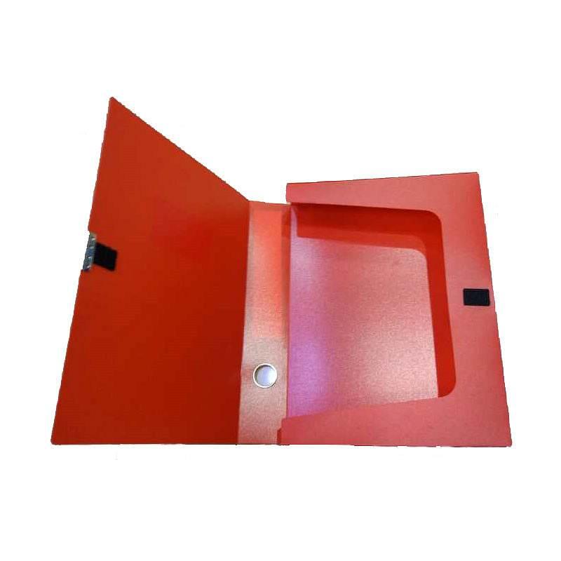 德旺DW-8855档案盒红A4/背宽5.5cm(个)