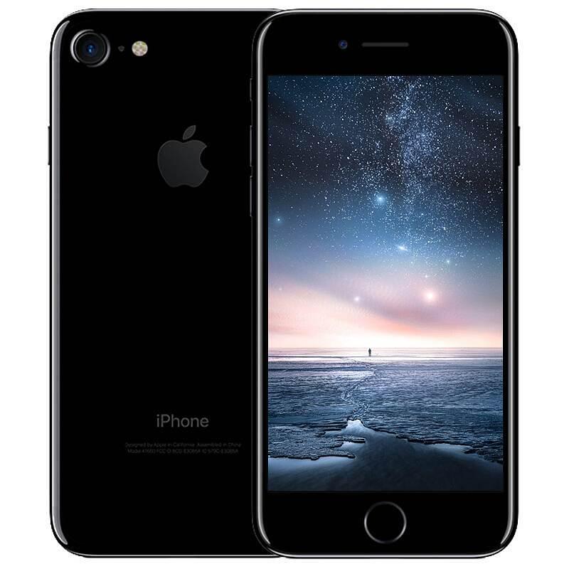苹果 7手机4.7寸/128G/亮黑色/三网通 (单位:台)