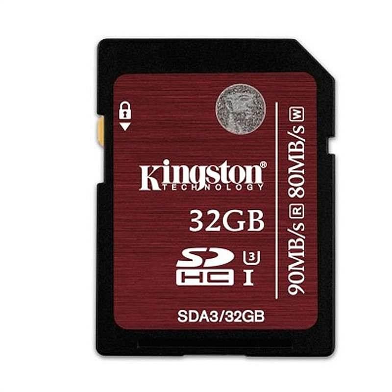 金士顿 SDA3 SD卡存储卡中国红 32G 红 (单位:个)