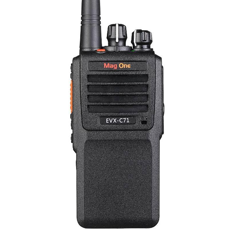 摩托罗拉 EVX-C71(可录音8小时)数字录音对讲机黑 (单位:台)