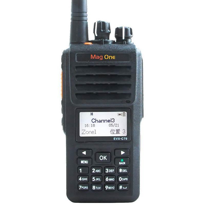 摩托罗拉 EVX-C79(可录音8小时)数字录音对讲机黑 (单位:台)