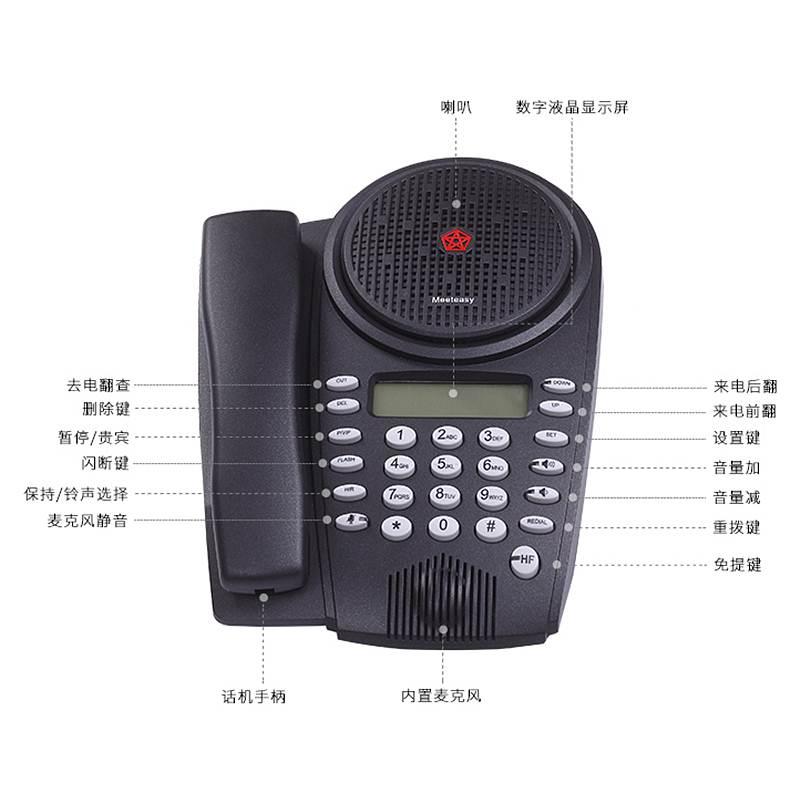 好会通 Me标准型音频会议系统电话机 (单位:台)