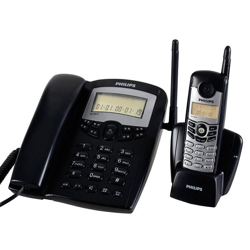 飞利浦 TD-6816A 无绳电话子母机一拖一( 单位:台)