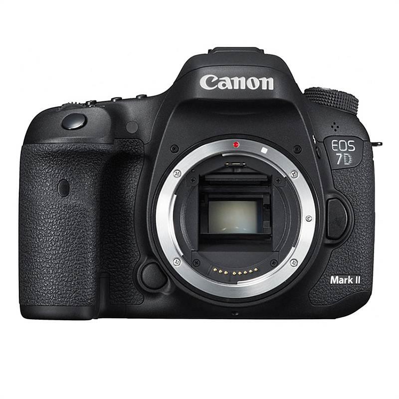 佳能(Canon)EOS 7D Mark II单反相机 约2020万像素 3英寸显示屏 APS画幅 自动对焦 无内置存储 单机身不含镜头 一年保修 黑色 (单位:台)