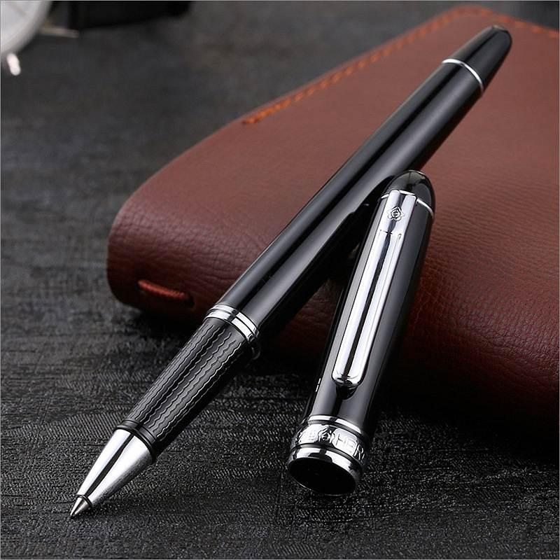 英雄706黑丽雅宝珠笔0.5mm(单位:支)