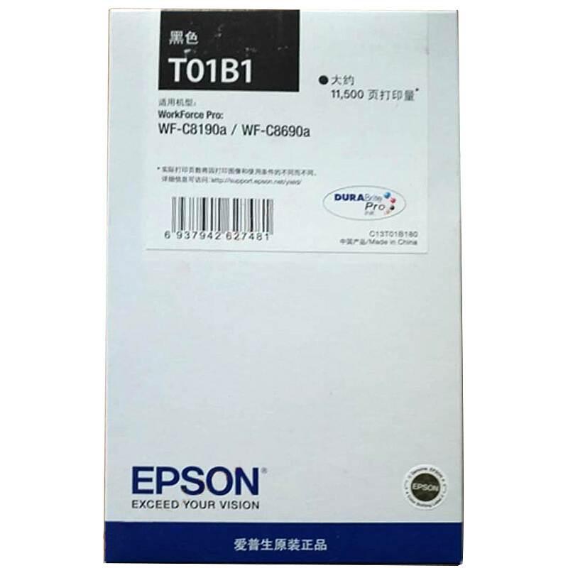 爱普生 T01B1 原装墨盒 黑 (单位:个)