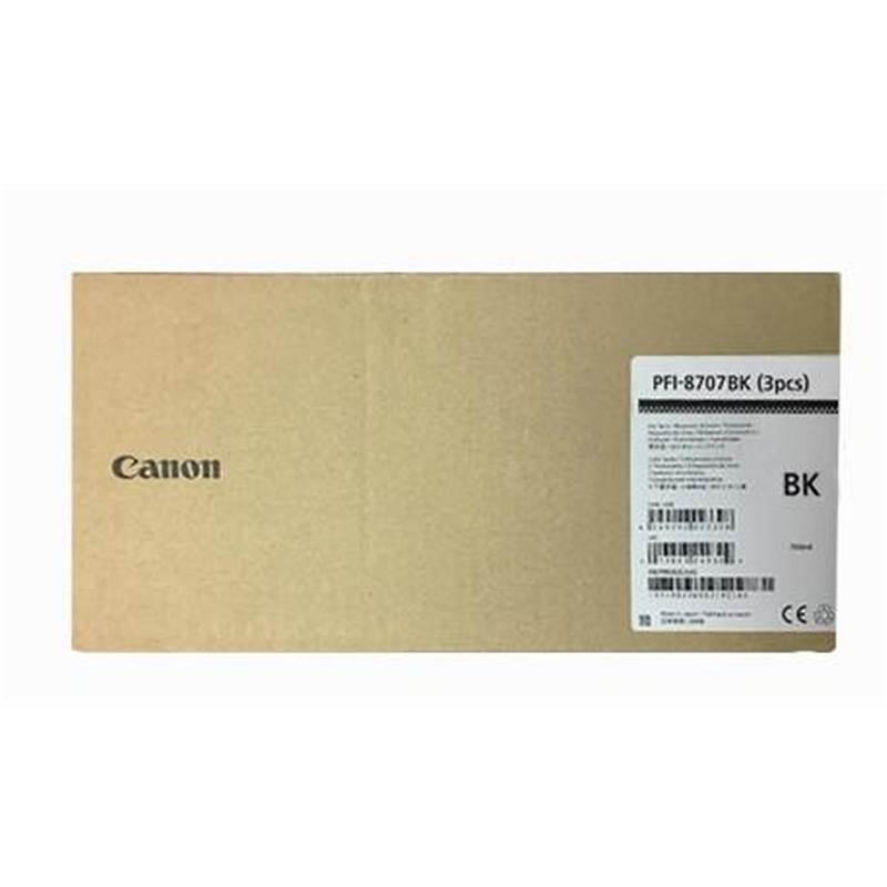 佳能PFI-8707BK绘图仪墨盒(个)