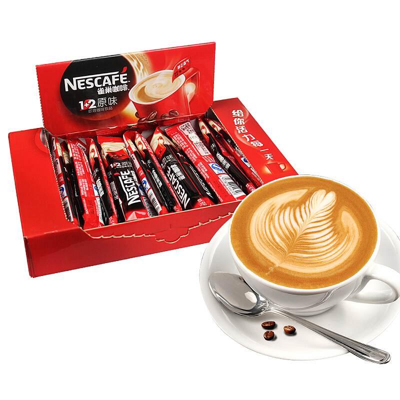 雀巢 450克1+2原味咖啡15克*30条/盒(单位:盒)