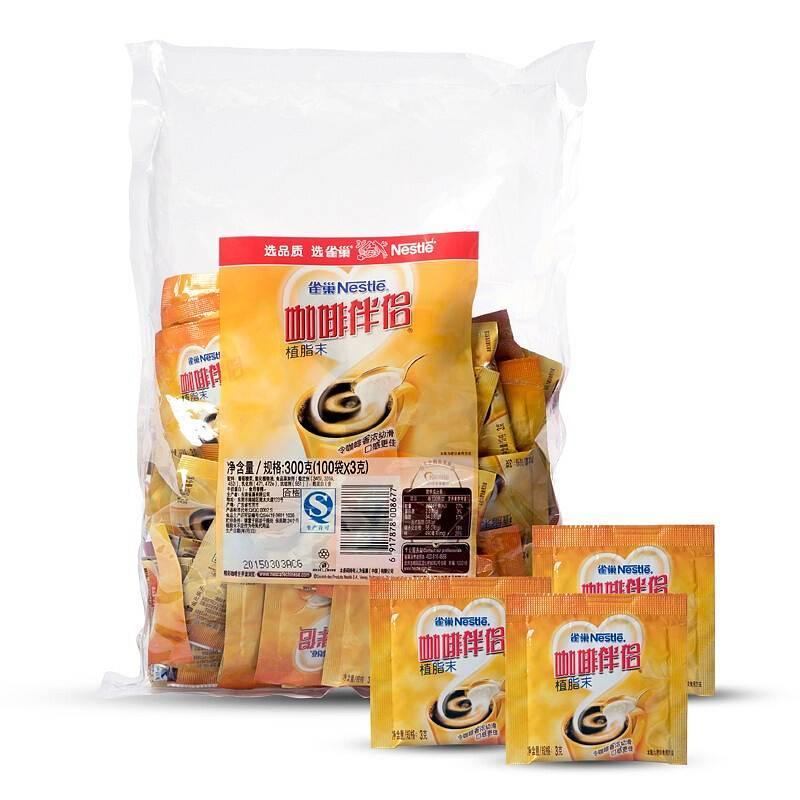 雀巢 咖啡伴侣速溶 3gx100包(单位:袋)