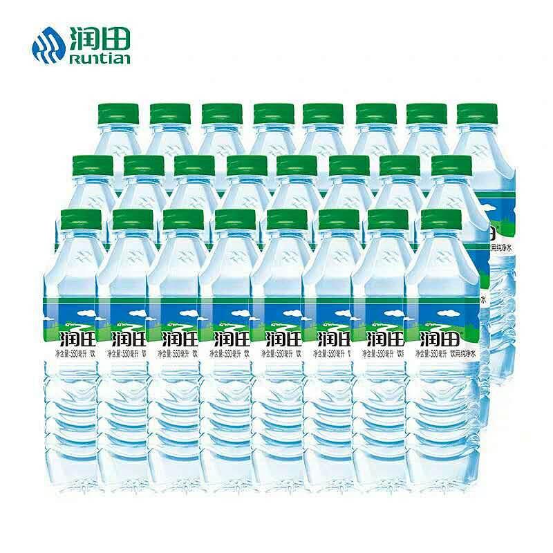 润田 550ML饮用水24/箱 江西地区专供 (单位:箱)