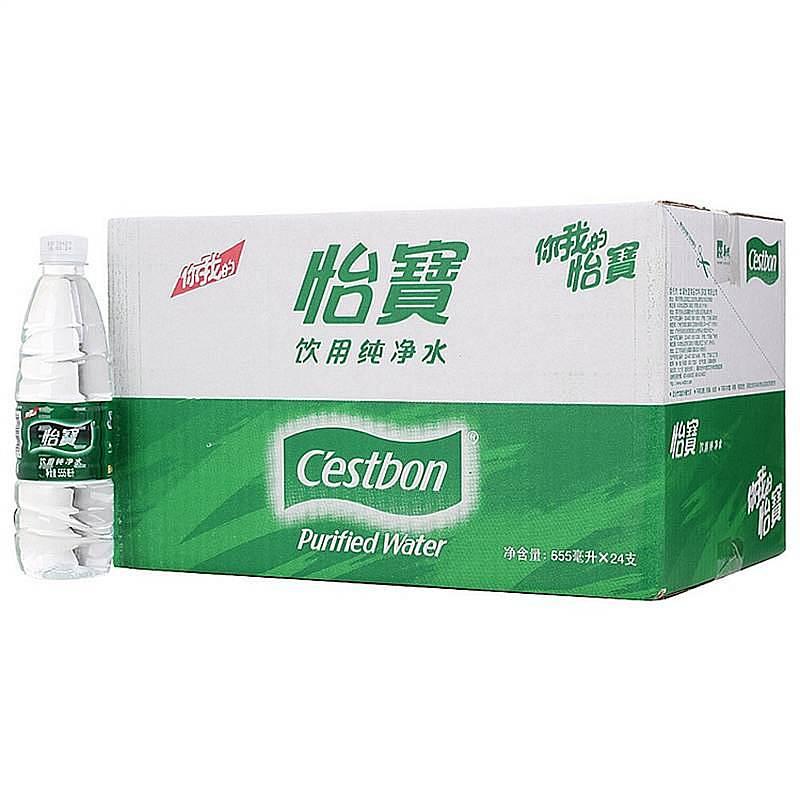 怡宝 555ML*24瓶/箱 纯净水 矿泉水 饮用水(单位:箱)