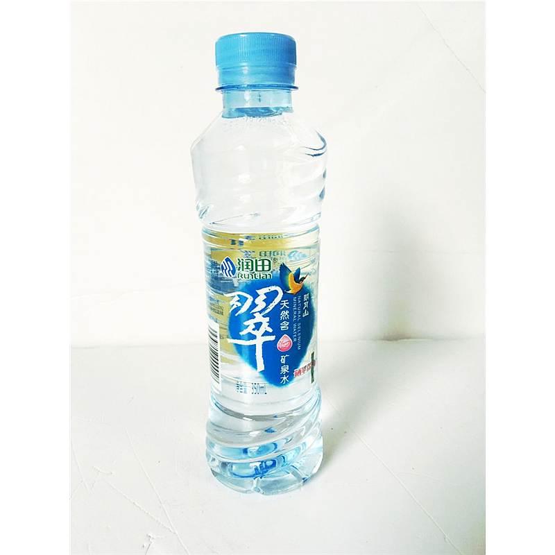 润田 翠天然含硒矿泉水350ml*15瓶/箱(单位:箱)(江西地区可供)