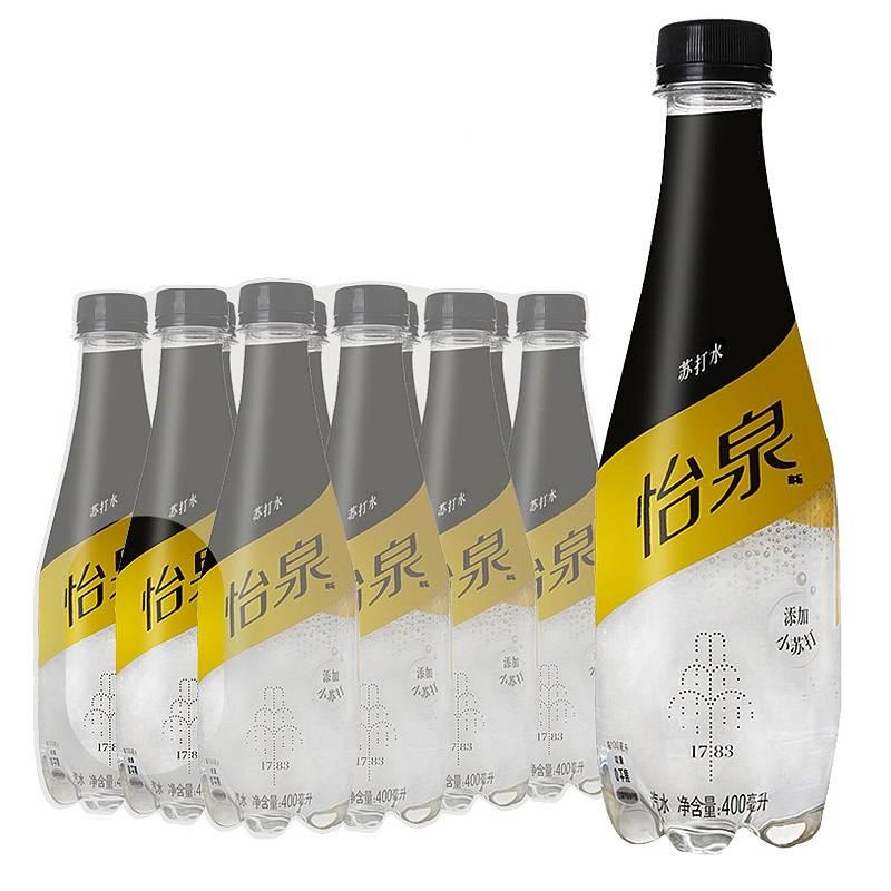 怡泉 含气苏打水400ml*12瓶(箱)