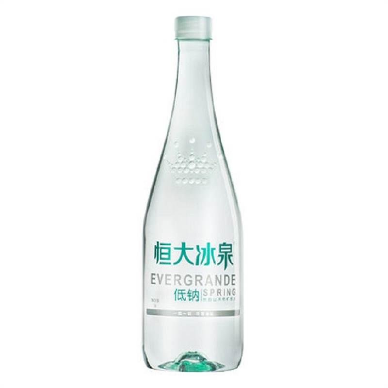 恒大冰泉 低钠水 24*500ml(单位:箱)