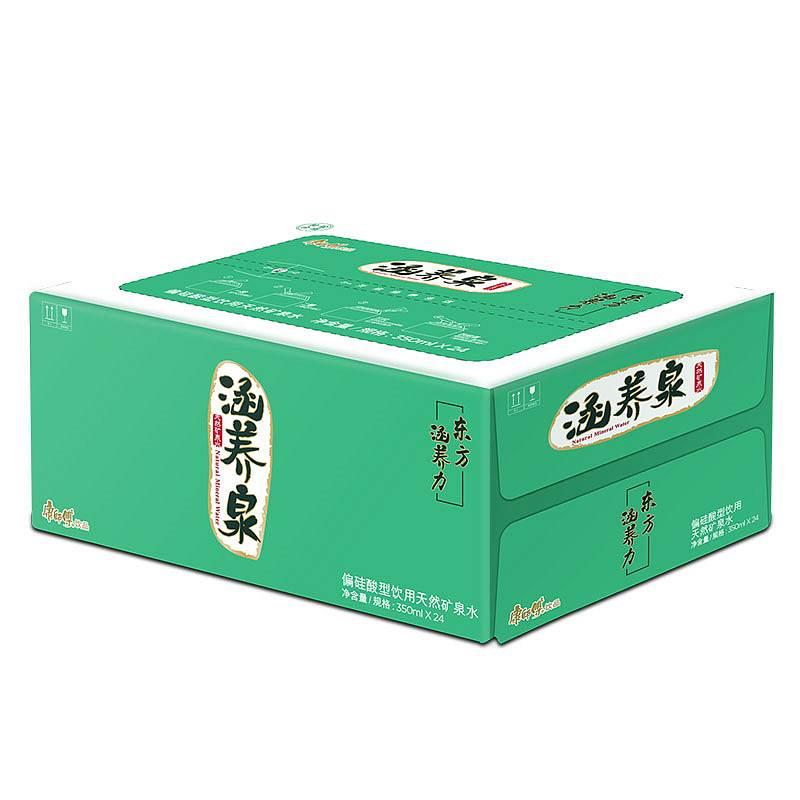 康师傅 涵养泉 饮用天然矿泉水 绿色包装 PET350ml*24(单位:箱)