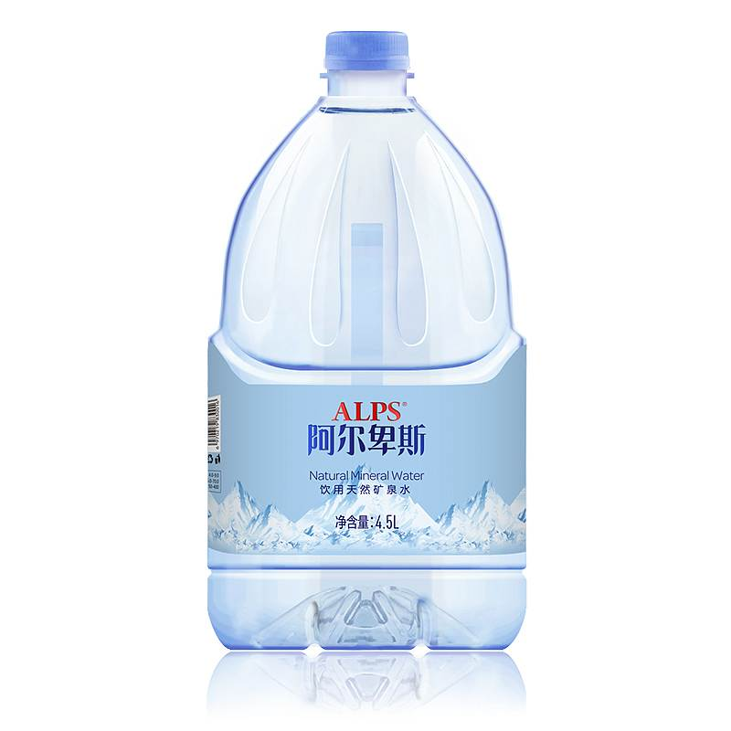 阿尔卑斯国产矿泉水(PET)4.5L*4(单位:箱)