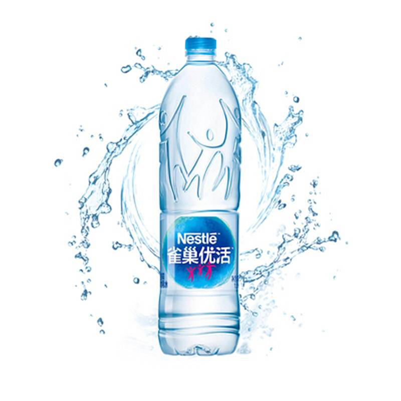 雀巢 NESTLE 优活饮用水1.5L*12瓶(箱)