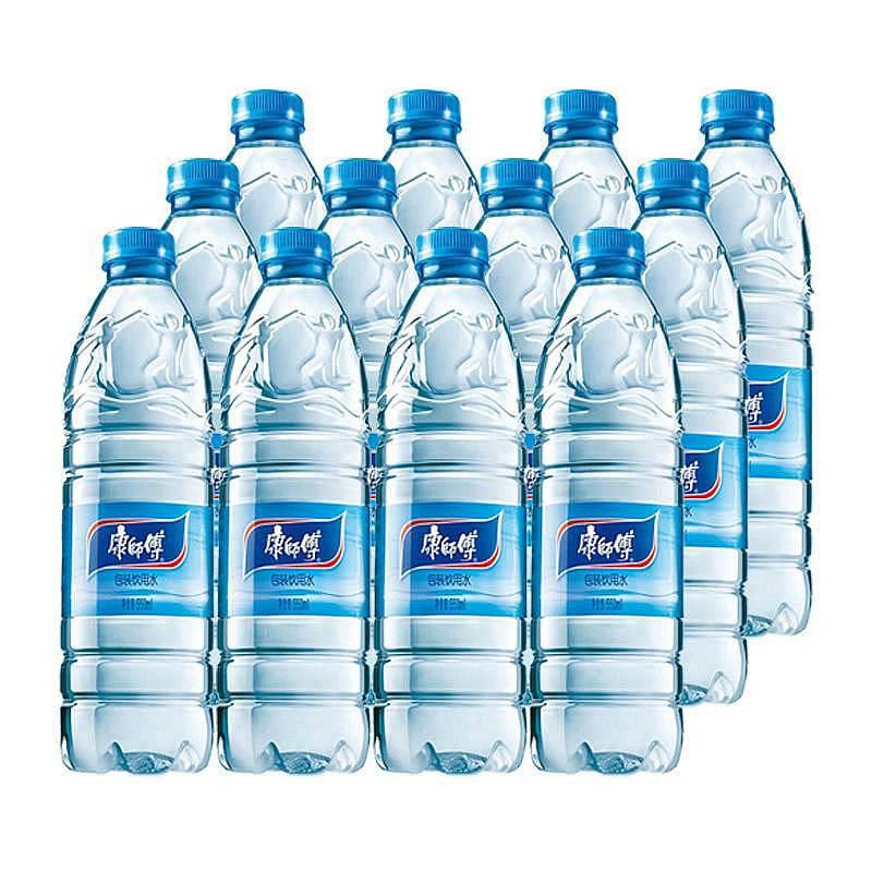 康师傅550ml矿泉水12瓶/件(箱)